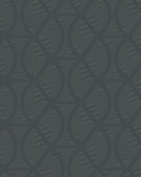 Opposites Attract Wallpaper Dark Gray by