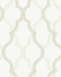 Double Damask Wallpaper Cream by