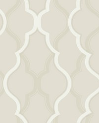 Double Damask Wallpaper Beige by