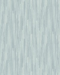 Bargello Wallpaper Blue by