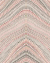 Onyx Strata Wallpaper Coral by
