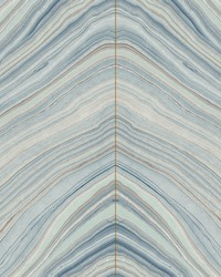 Onyx Strata Wallpaper Blue by