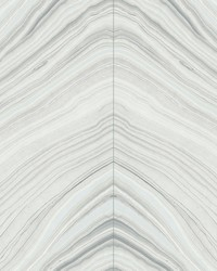 Onyx Strata Wallpaper Gray by