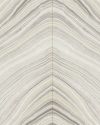 Onyx Strata Wallpaper Beige by