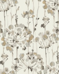 Flourish Wallpaper Beige by