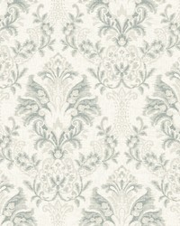 Bold Brocade Wallpaper Beige by