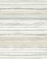 Fleeting Horizon Stripe Wallpaper Tan by