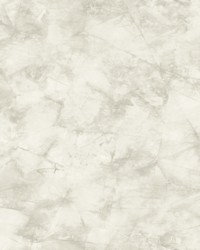 Pressed Petioles Wallpaper White by