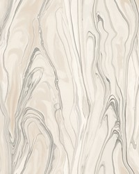 Liquid Marble Wallpaper Pink by