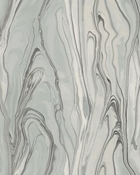 Liquid Marble Wallpaper Gray by