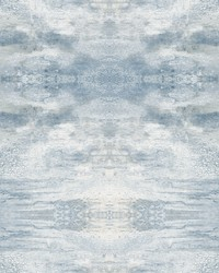 Serene Jewel Wallpaper Blue by
