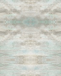 Serene Jewel Wallpaper Blue  Grey by