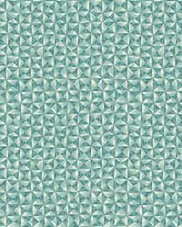 Bijou Wallpaper Teal Blues Greens by