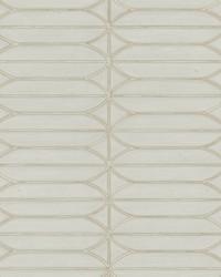 Pavilion Wallpaper Taupe White Off Whites Blacks by