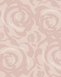 Lavish Wallpaper Blush Pinks by