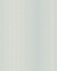 Odyssey Wallpaper Teal Blues White Off Whites by