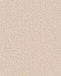 Intrigue Wallpaper Gold on Blush Pinks Metallics by