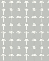 Palm Bay Wallpaper Gray by