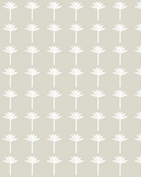 Palm Bay Wallpaper Beige by