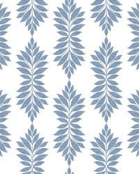 Broadsands Botanica Wallpaper Blue by