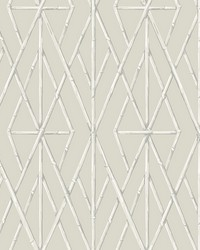 Riviera Bamboo Trellis Wallpaper Cream by