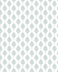 French Scallop Wallpaper Light Gray by