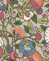 Vincent Poppies Wallpaper Brights by