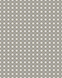 Rattan Overlay Lattice Wallpaper Gold Grey by
