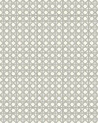 Rattan Overlay Lattice Wallpaper Beige White by