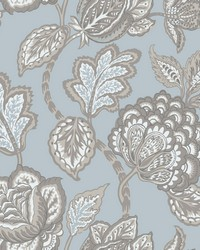 Midsummer Jacobean Wallpaper Spa Brown by