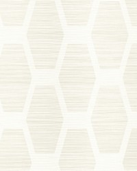 Congas Stripe Wallpaper White by