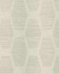 Congas Stripe Wallpaper Greige by