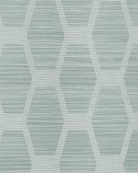 Congas Stripe Wallpaper Turquoise by