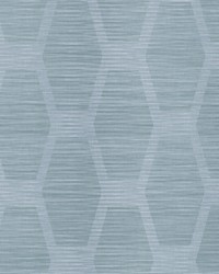 Congas Stripe Wallpaper Blue by