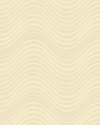 Meander Wallpaper metallic gold  gold  gold glass beads by