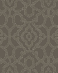 Allure Wallpaper dark grey  pale grey by