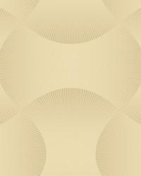 Freestyle Wallpaper light grey  metallic gold by