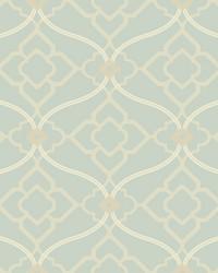 Zuma Wallpaper pale silvery blue  white  grey  beige by
