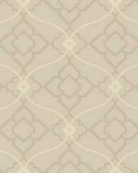 Zuma Wallpaper soft metallic silver  pale grey  light grey  white by