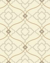Zuma Wallpaper soft golden beige  grey  tan  dark taupe by