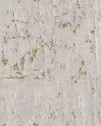 Cork Wallpaper metallic silvery grey  dark brown  metallic gold by