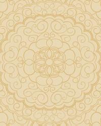 Karma Wallpaper cream  beige  gold glitter  by