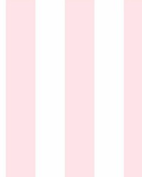 Disney Princess Silk Stripe Wallpaper Pink  by