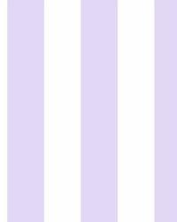 Disney Princess Silk Stripe Wallpaper Purple by