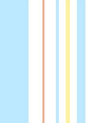 Disney and Pixar Toy Story 4 Owens Stripe Wallpaper Blue Orange by