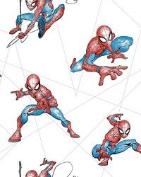 Spider-Man Fracture Wallpaper Red Blue Gray by