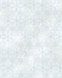 Disney Frozen 2 Snowflake Wallpaper White Aqua by