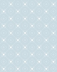 Disney Mickey Mouse Argyle Wallpaper Blue by