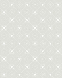 Disney Mickey Mouse Argyle Wallpaper Gray by