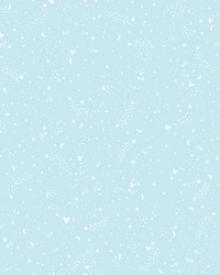 Disney Mickey Mouse Star Wallpaper Teal by